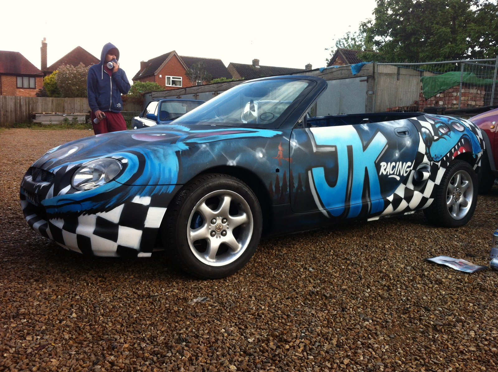 Blue Graffiti 1999 MG MGF