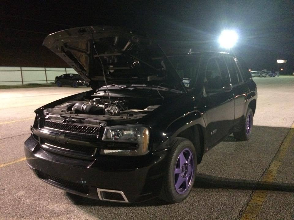 Black 2008 Chevrolet TrailBlazer SS