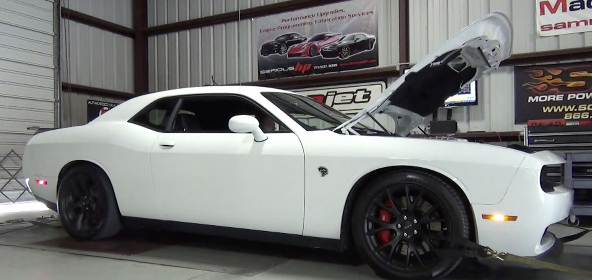2015 White Dodge Challenger Hellcat  picture, mods, upgrades