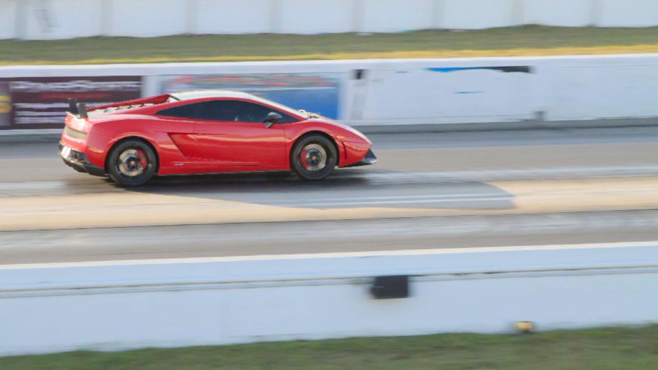 Lamborghini Gallardo LP570-4 Super Trofeo Stradale runs 11.180 @ 132.050 MPH in the 1/4 mile