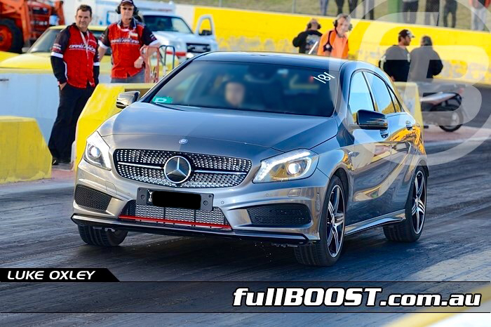 Mercedes-Benz A250 Sport runs 14.541 @ 95.880 MPH in the 1/4 mile