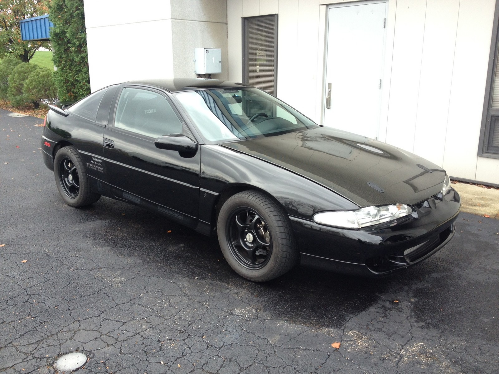 Black 1994 Eagle Talon TSi