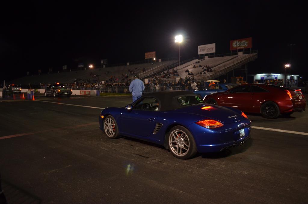 Stock 2009 Porsche Boxster S 14 Mile Drag Racing Timeslip Specs 0