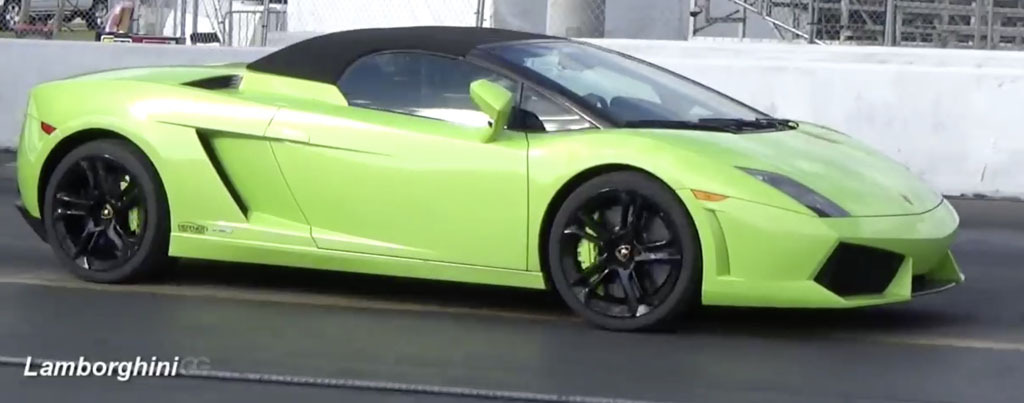 Verde 2011 Lamborghini Gallardo LP560-4 Twin Turbo Heffner