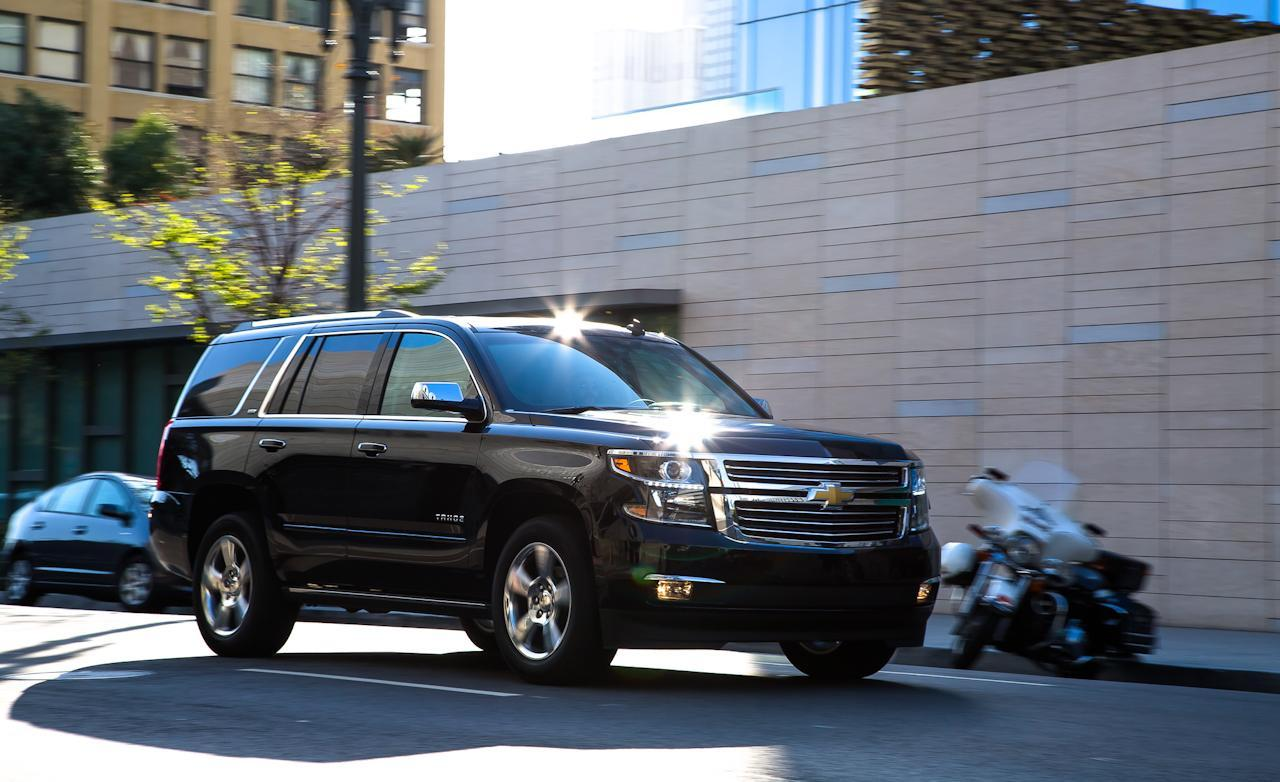 Metalic Black 2015 Chevrolet Tahoe LTZ