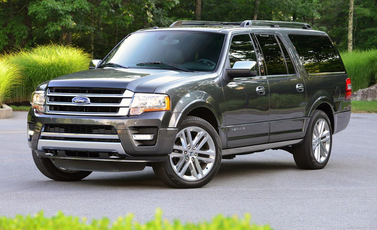 Black 2015 Ford Expedition PLATINUM