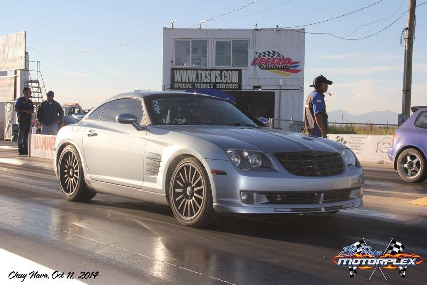 2005 Chrysler Crossfire Srt 6 14 Mile Drag Racing Timeslip Specs 0