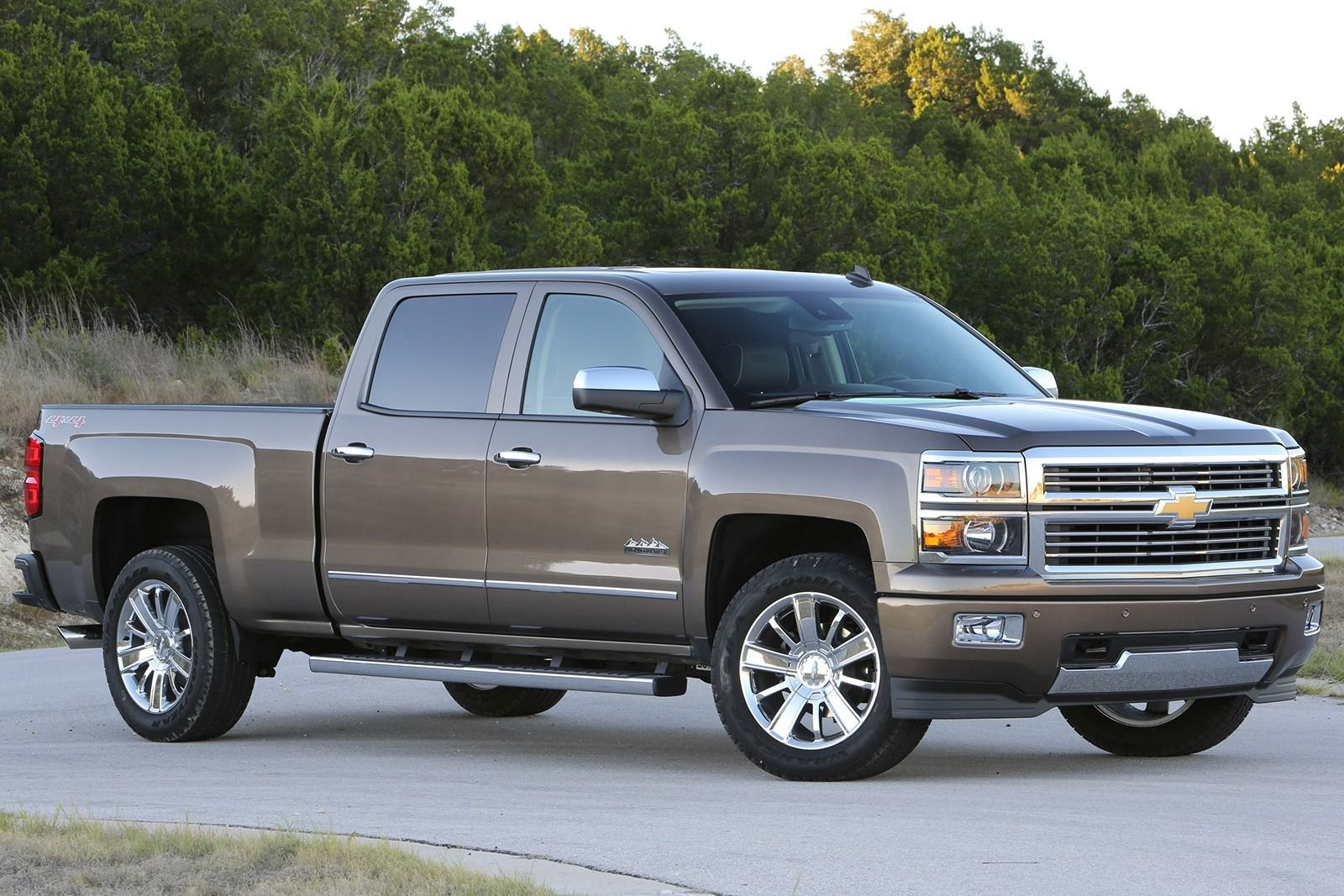 Gray 2015 Chevrolet CK1500 Truck SILVERADO High country