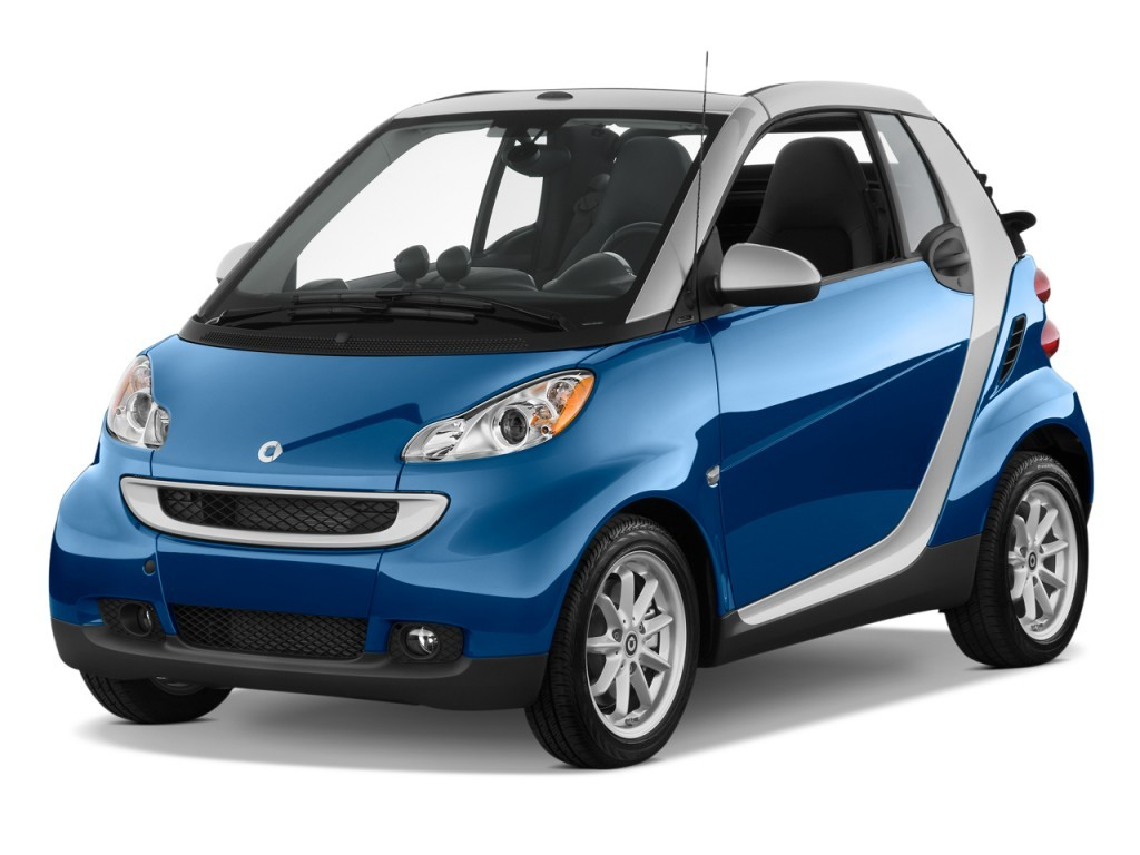 Blue 2009 Smart Fortwo