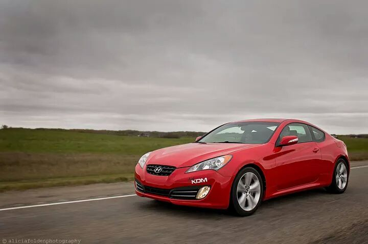 2010 Red Hyundai Genesis Coupe 3.8 AT picture, mods, upgrades