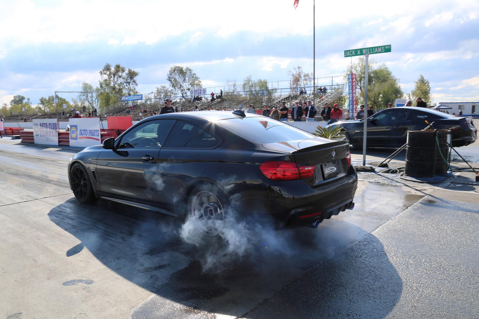 2014 bmw 435i 1/4 mile drag racing timeslip specs 0-60 - dragtimes