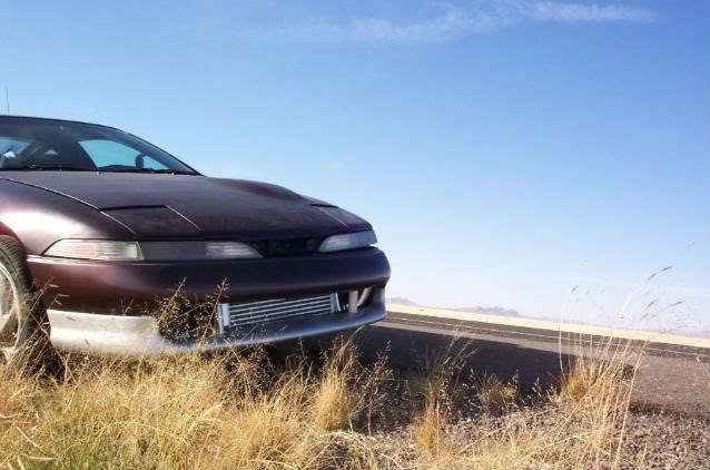Black Cherry 1991 Eagle Talon TSI