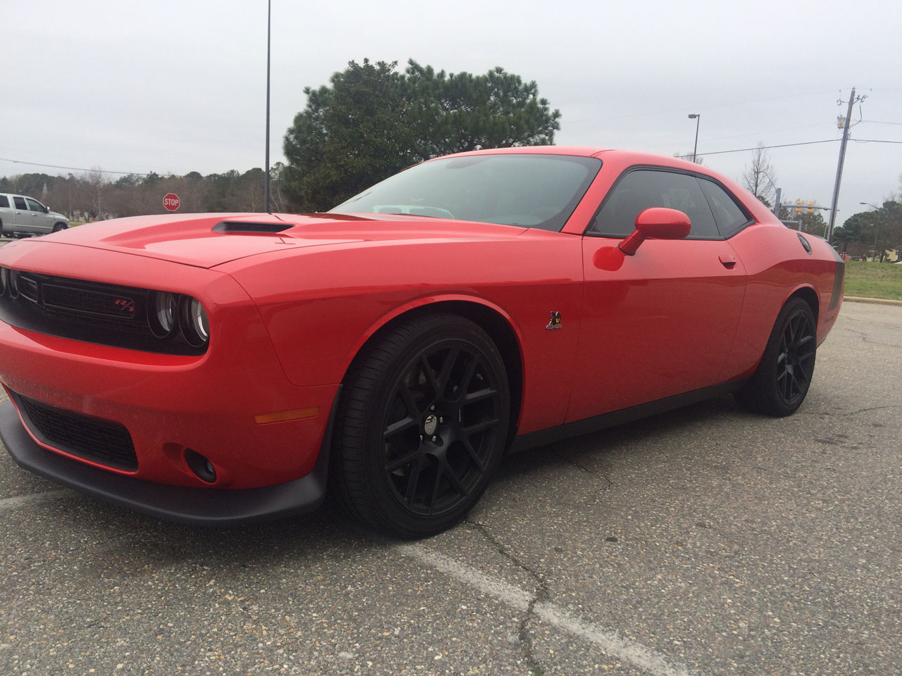 2015 Dodge Challenger R/T SCATPACK 1/4 mile Drag Racing trap speed 0