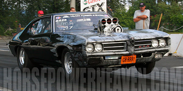 1969 Pontiac GTO Judge  1/4 mile Drag Racing timeslip specs 0-60 - DragTimes.com