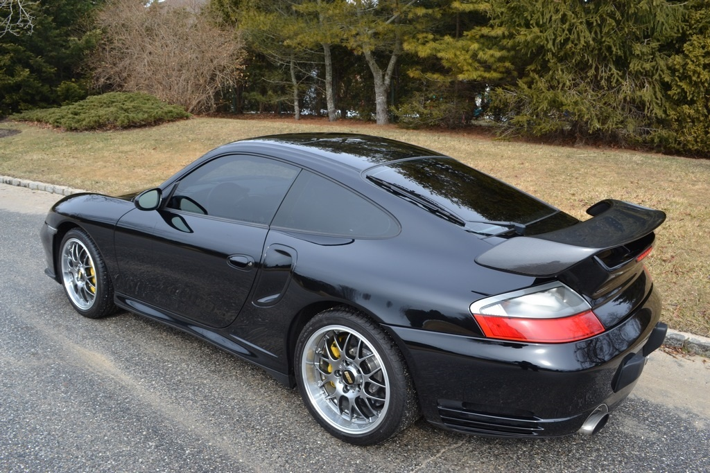 Black 2005 Porsche 911 Turbo RWD Turbo S (996)