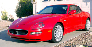 2002 Rosso Maserati Coupe 4200 GT picture, mods, upgrades