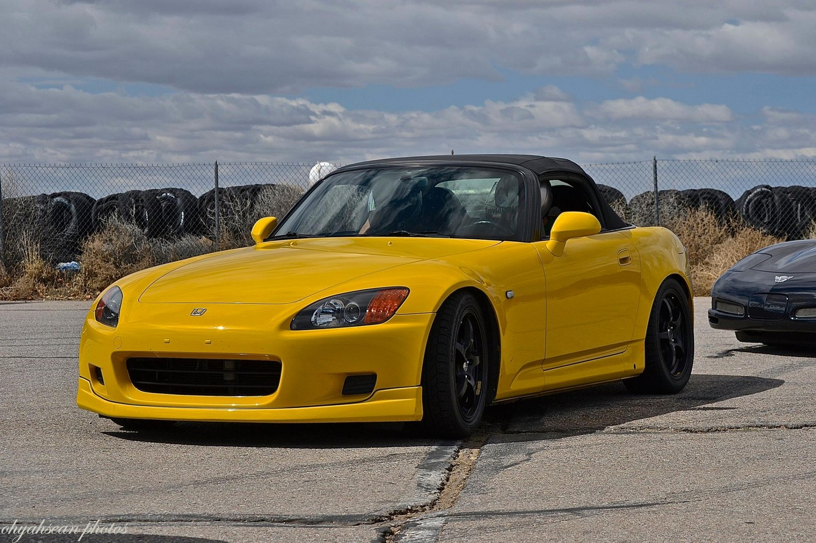 Spa yellow 2001 honda s2000 nitrous