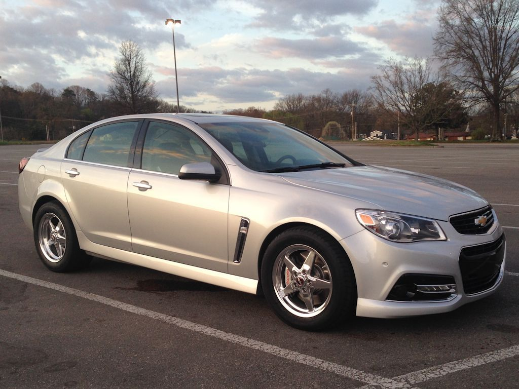 2014 Silver Chevrolet SS 4-Door Sedan picture, mods, upgrades