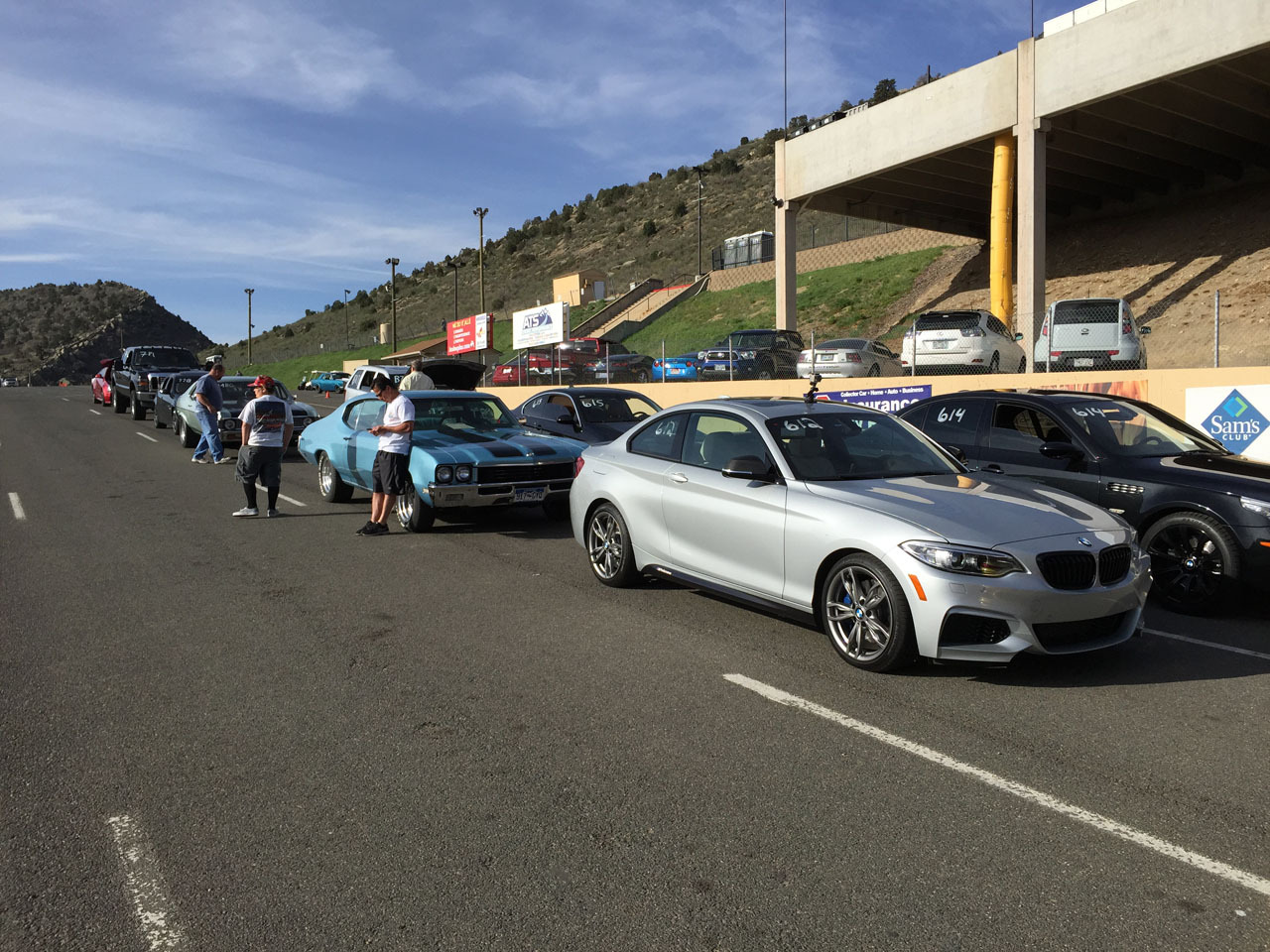 Glacier Silver 2015 BMW M235i XDrive