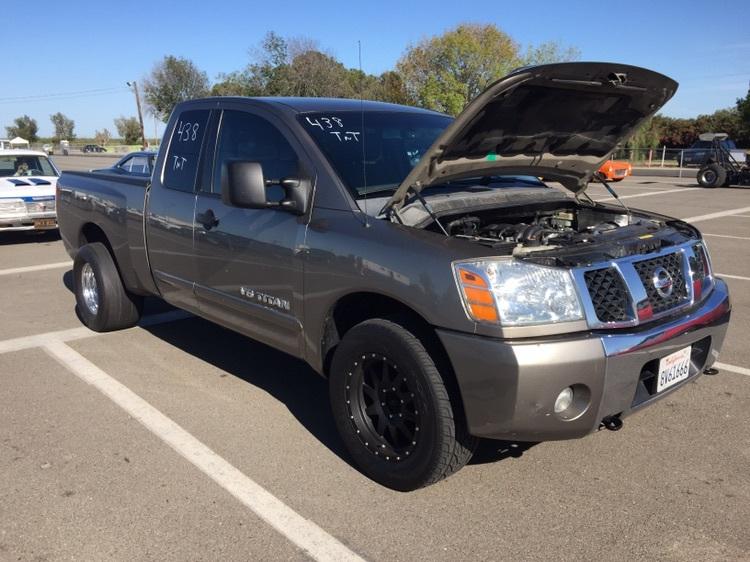 Pewter 2006 Nissan Titan 4x4 Off Road SE KC