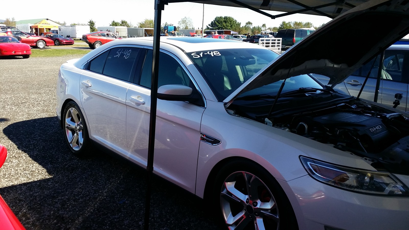 2010 Ford Taurus SHO 1/4 mile Drag Racing timeslip specs 0-60 ...
