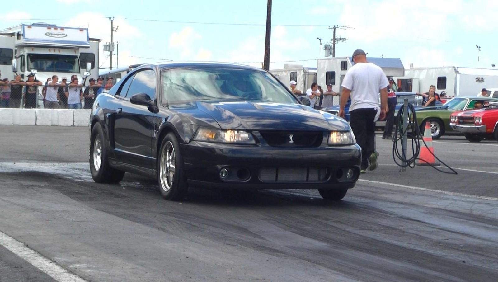 Black 2004 Ford Mustang Svt Cobra