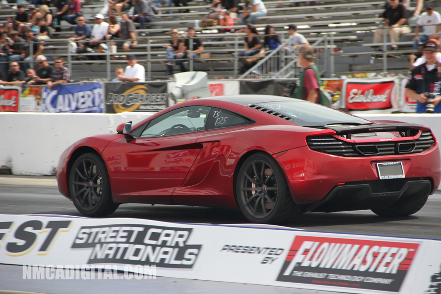 2012 Volcano Red McLaren MP4-12C Coupe EVOMS picture, mods, upgrades