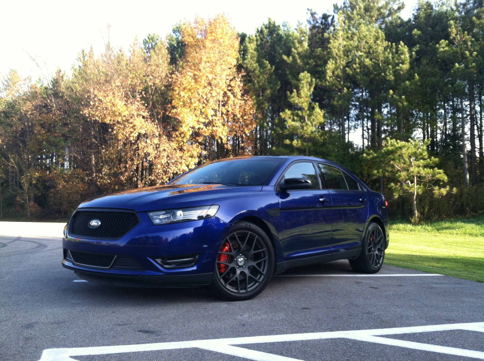 deep impact blue ford taurus sho  pp pictures mods upgrades wallpaper dragtimescom