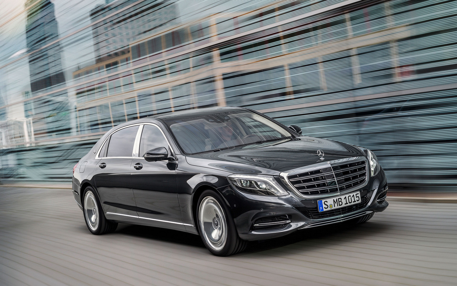 Black 2016 Mercedes-Benz S600 MAYBACH