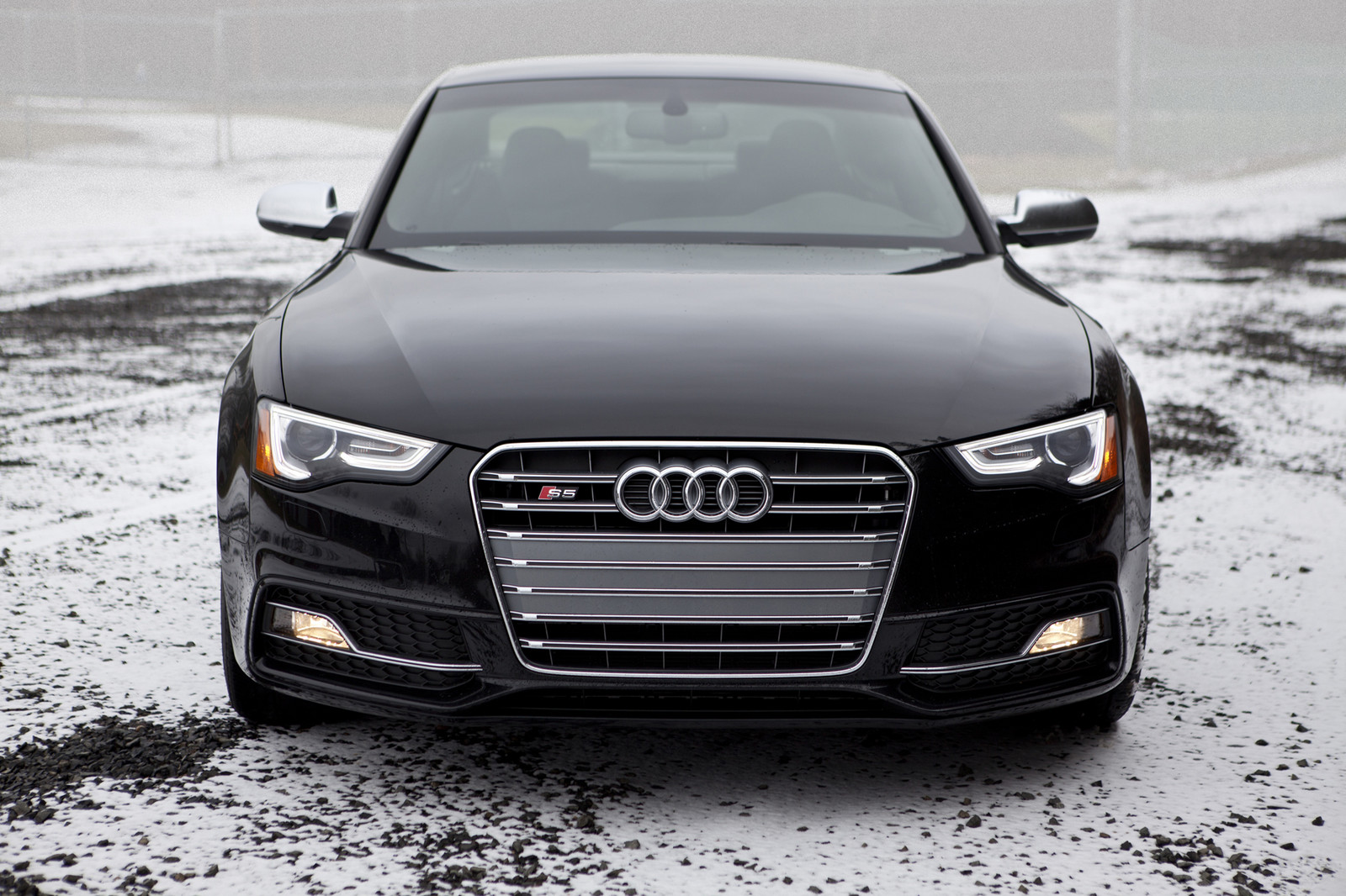 Stock 2015 Audi S5 1/4 mile Drag Racing timeslip specs 0-60 ...