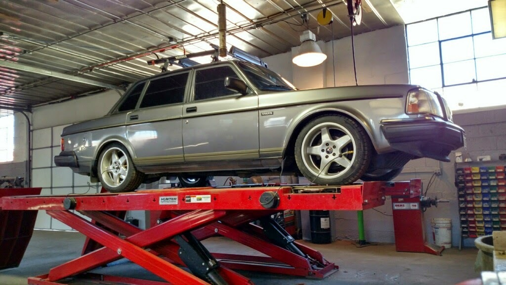 system begins peach the exhaust parts mechanical restoration performance georgia abarth on volvo
