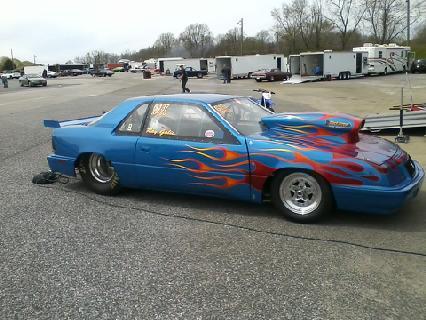 1988 Chrysler Lebaron 1 4 Mile Trap Speeds 0 60 Dragtimes Com