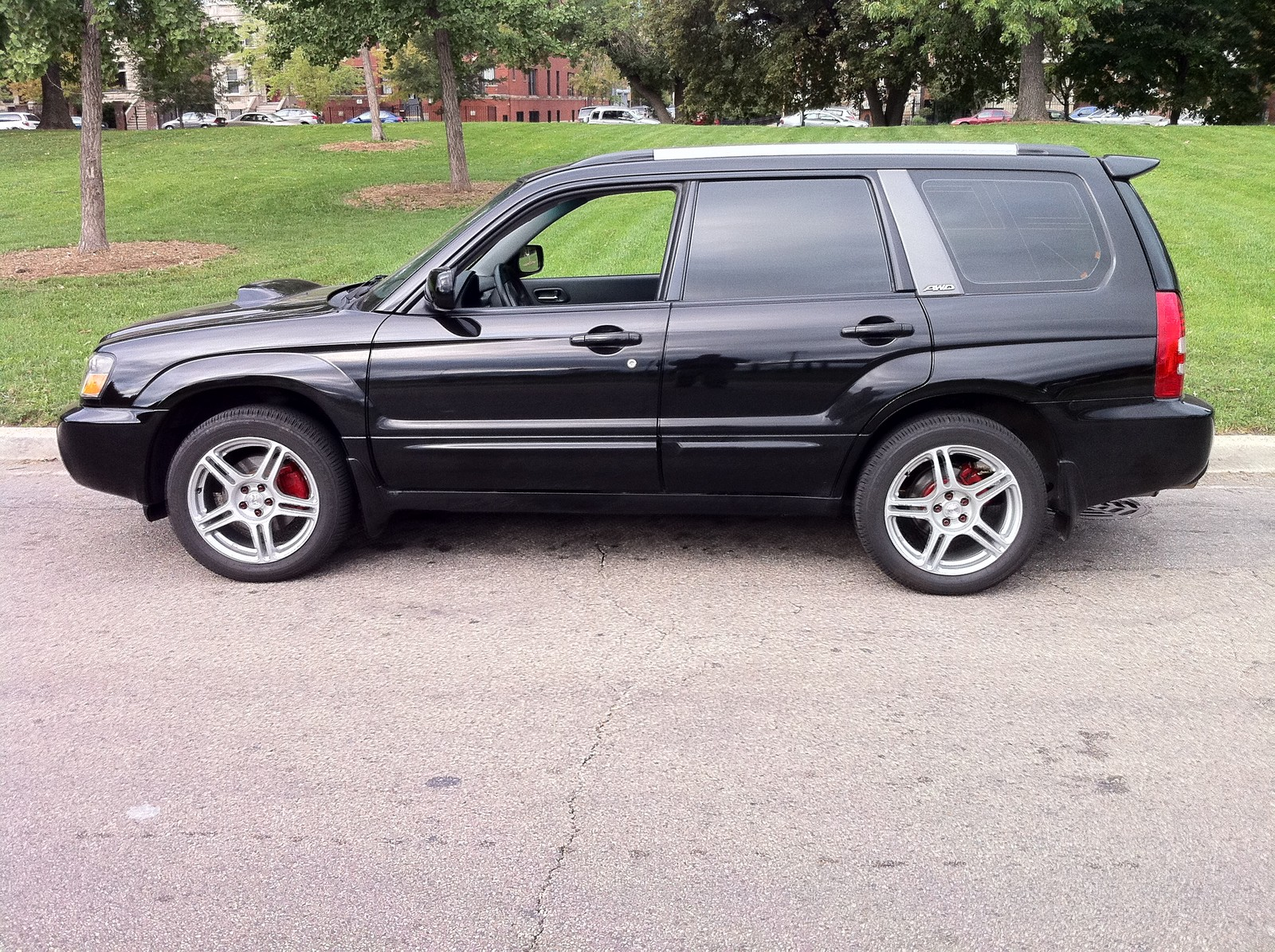 BLACK 2004 Subaru Forester XT