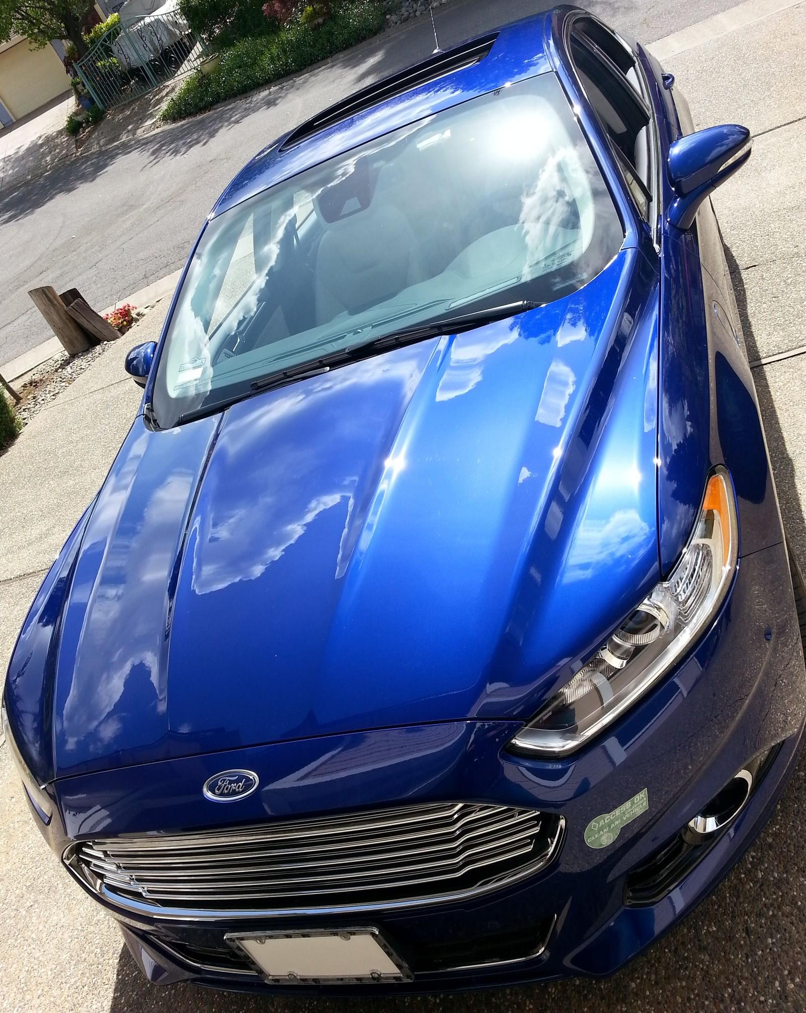 Stock 2015 Ford Fusion EV Mode Energi Titanium 1 4 mile Drag Racing