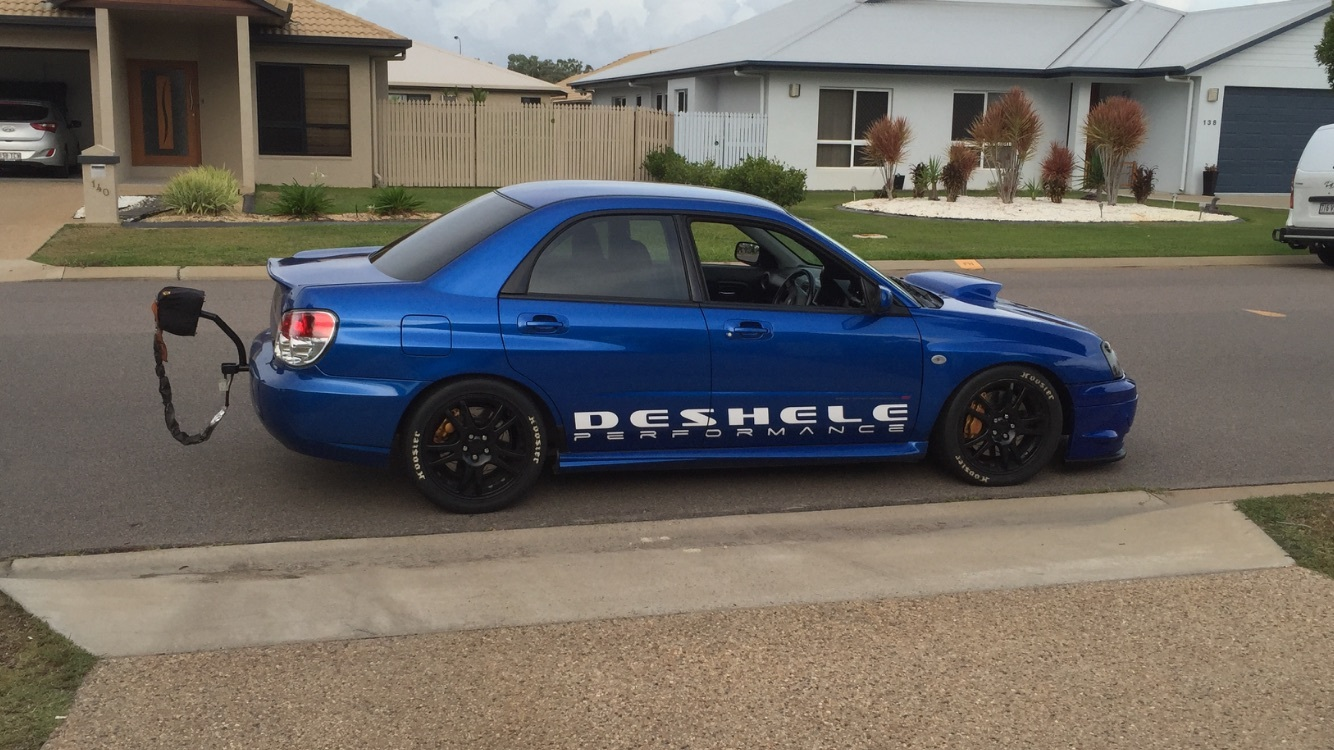 2004 Blue Subaru Impreza Sti  picture, mods, upgrades