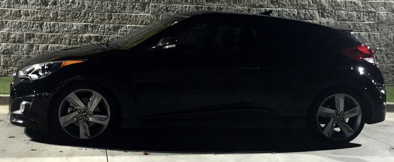 2014 Hyundai Veloster Turbo 1/4 mile Drag Racing timeslip