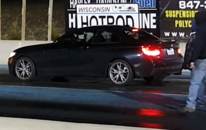 Black 2015 BMW M235i XDrive