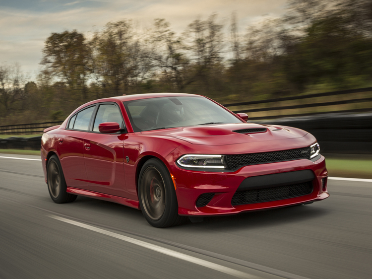 Metallic Red  2015 Dodge Charger Hellcat SRT