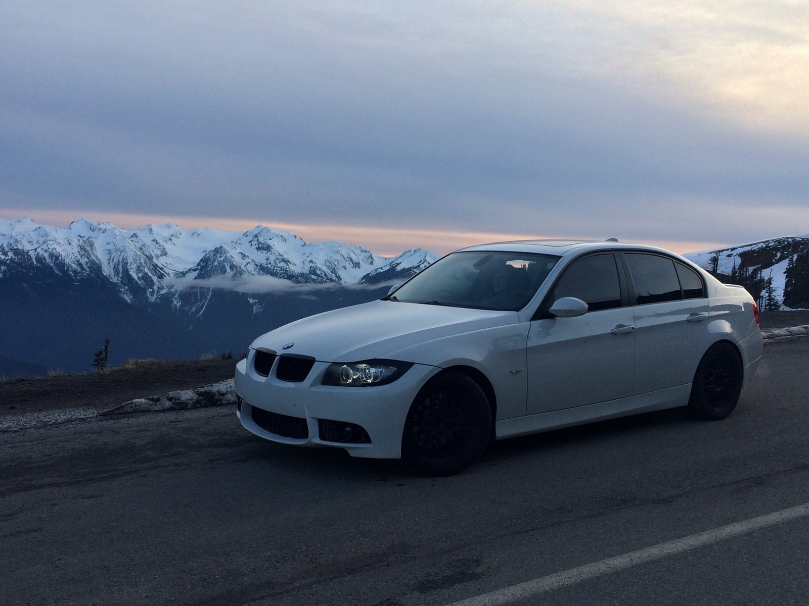 Alpine White 2007 BMW 335i RB Turbos, 6MT Stock Diff