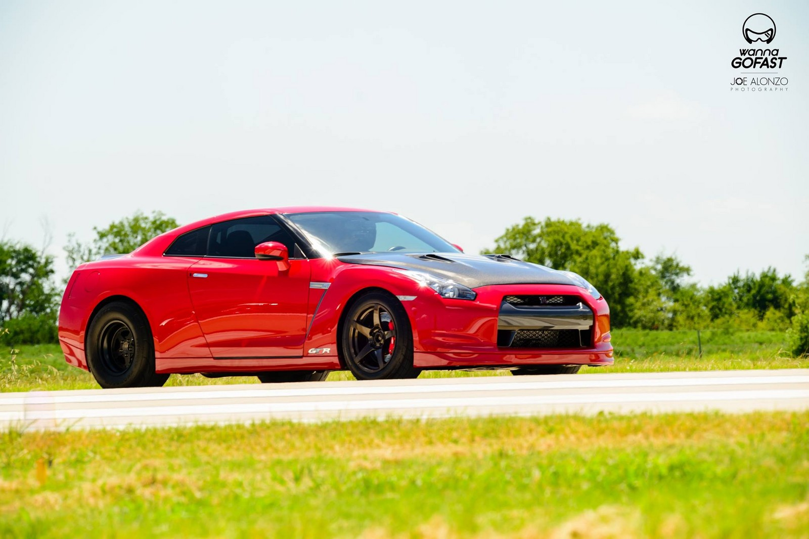 Red 2011 Nissan GT-R
