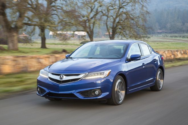 2016 Metallic Blue Acura ILX A-SPEC Pictures, Mods