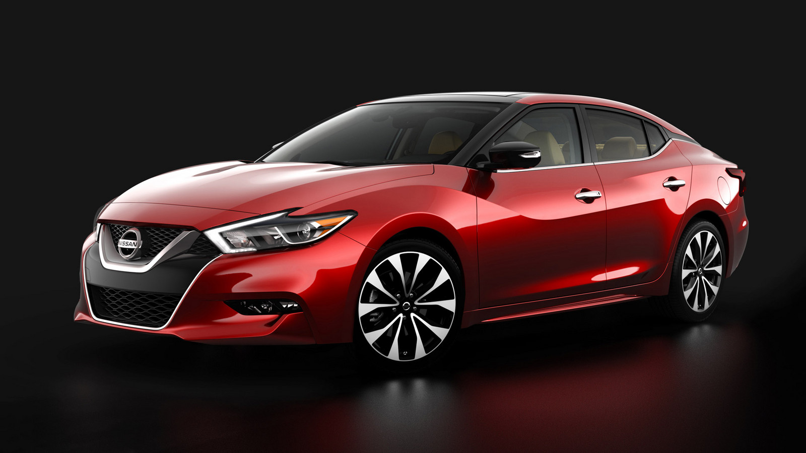 Red Cherry 2016 Nissan Maxima