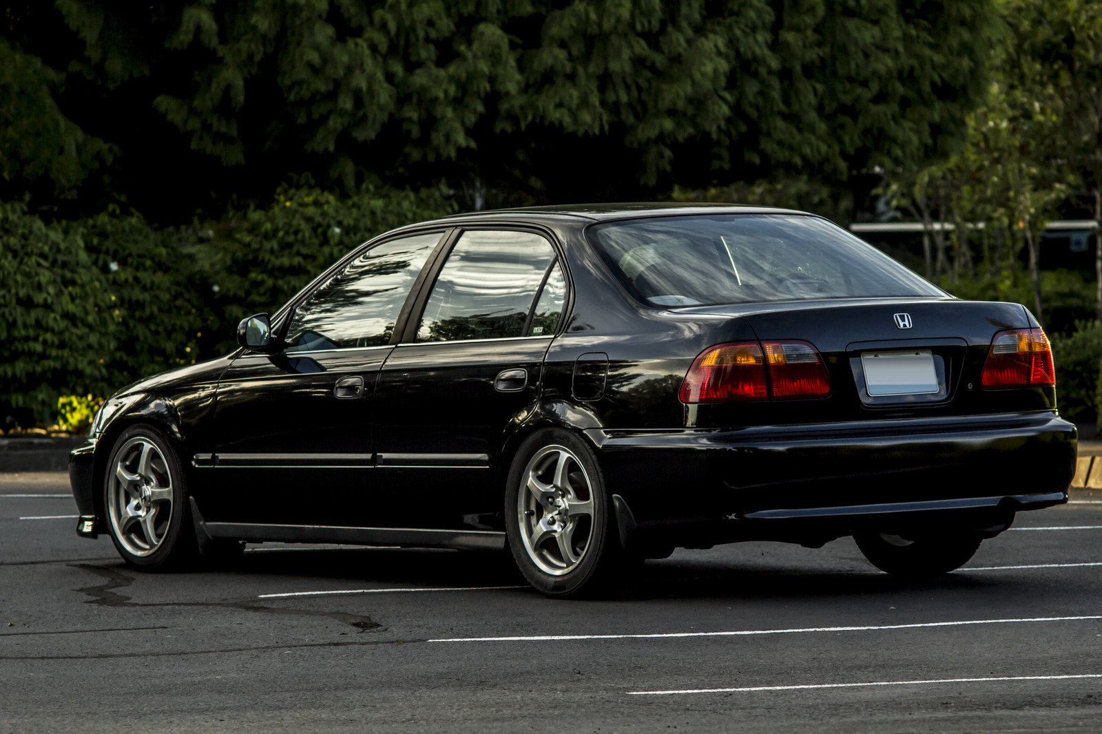 2000 Black Honda Civic LX Stock K24a2 N/A Picture, Mods, Upgrades