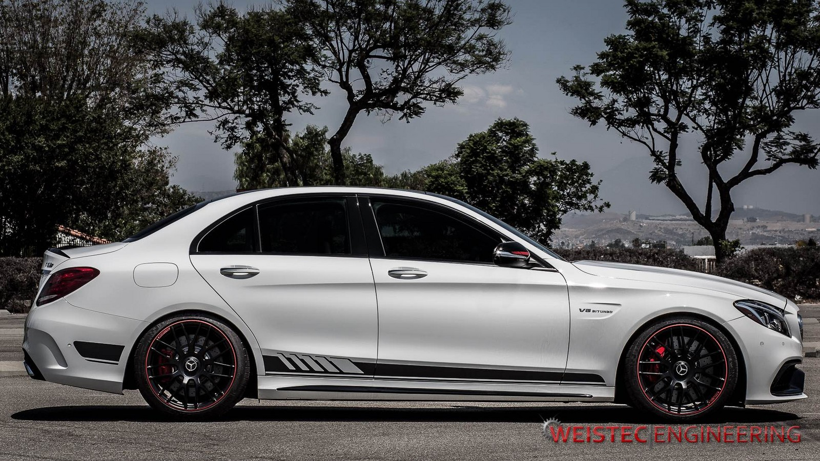 2015 mercedes benz c63 amg w205 weistec 1 4 mile drag for C63 mercedes benz
