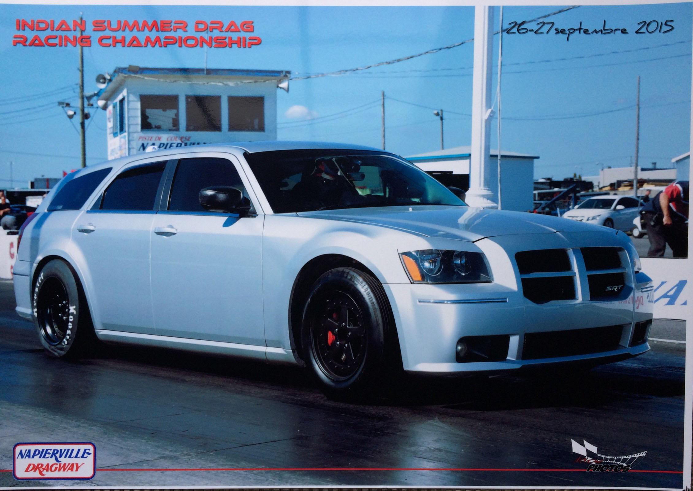 2006 Dodge Magnum Srt8 1 4 Mile Drag Racing Timeslip Specs 0 60