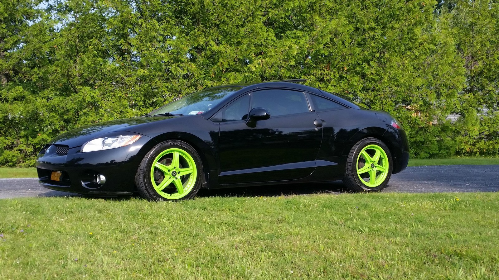 Black 2006 Mitsubishi Eclipse GT 6 Speed MT