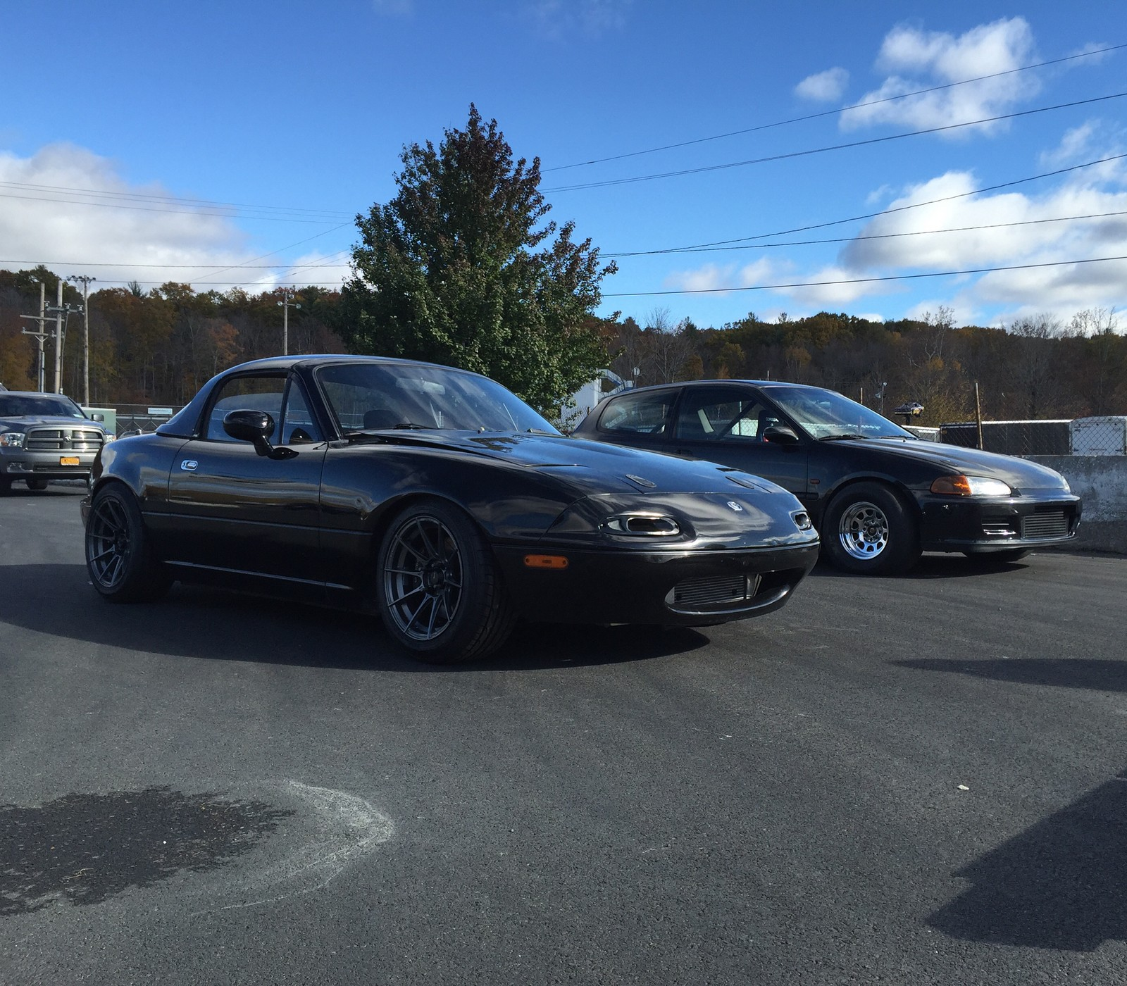 1993 mazda miata mx5 1/4 mile drag racing timeslip specs 0-60