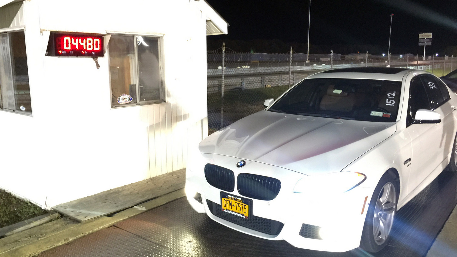 Alpine White 2012 BMW 550i M Sport xDrive