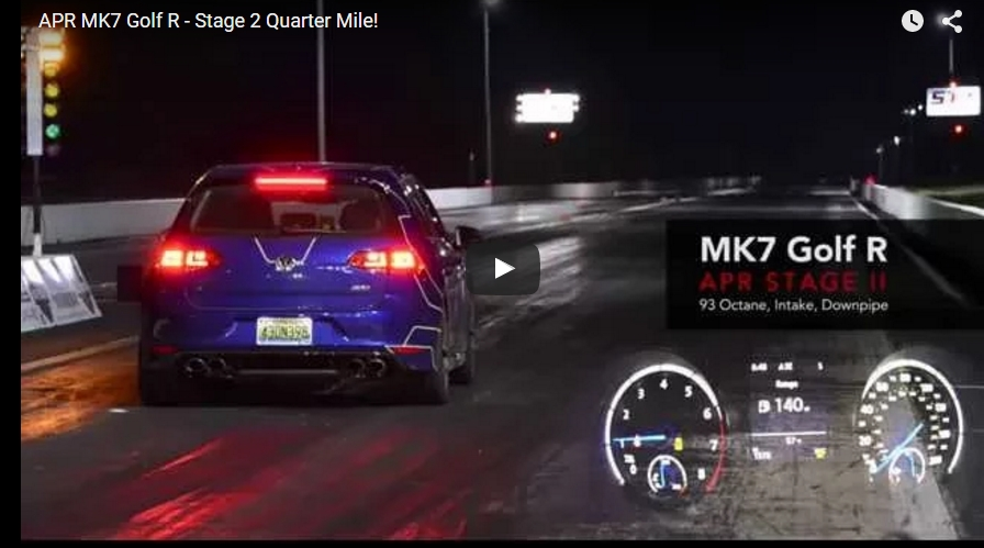 2015 Volkswagen Golf R Mk7 1 4 Mile Trap Speeds 0 60 Dragtimes Com