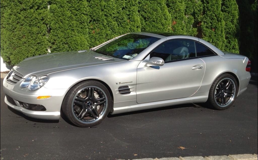 2003 mercedes benz sl55 amg convertible 1 4 mile trap for Mercedes benz sl55 amg